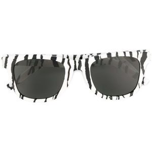 Saint Laurent zebra frame sunglasses